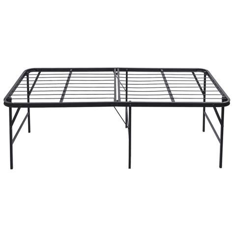 heavy duty platform bed platform bed frame steel heavy duty size foldable bedroom
