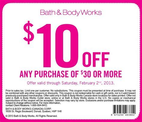 bath and body works 10 off 30 printable coupon my blog
