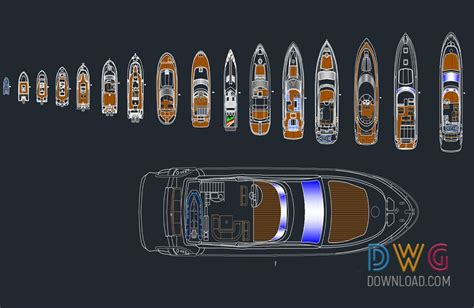 boat plans dwg dwg download boat and yacht cad blocks free dwg