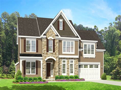 two story home with 2 story house plans first floor master 2 story house
