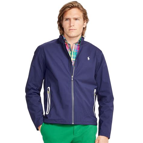 ralph lauren bi swing ralph lauren core breaker bi swing jacket in blue for men