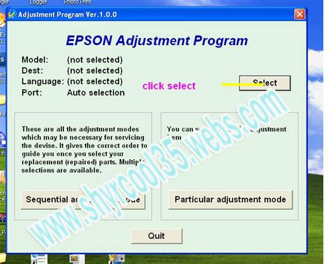 adjustment resetter epson t13 resetter adjustment program free download