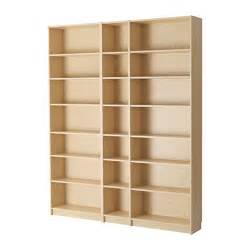billy bookcase birch veneer 200x237x28 cm ikea