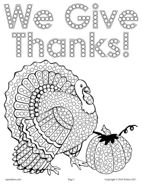 Q Tip Coloring Pages by Free Thanksgiving Turkey Q Tip Painting Printable