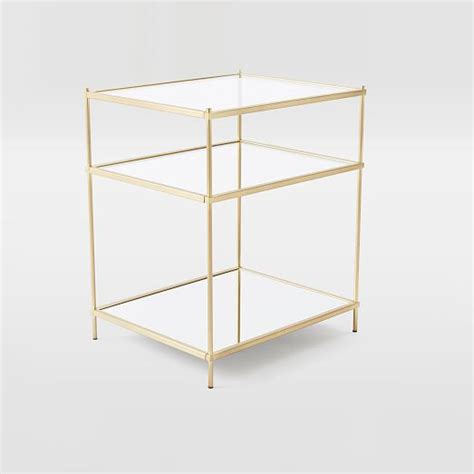 West Elm Dining Room Table by Terrace Nightstand Antique Brass West Elm