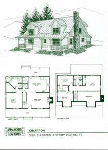 Floor Plans For Cabins by Log Home Package Kits Log Cabin Kits Cimarron Model