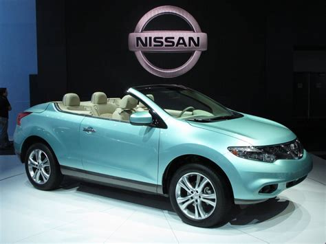 Convertible Nissan Suv by 2011 Nissan Murano Crosscabriolet Suv