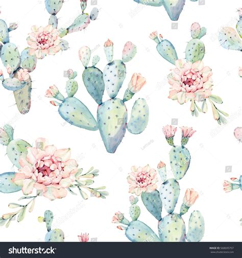 design home gift paper inc mississauga on hand drawn watercolor saguaro cactus seamless lager