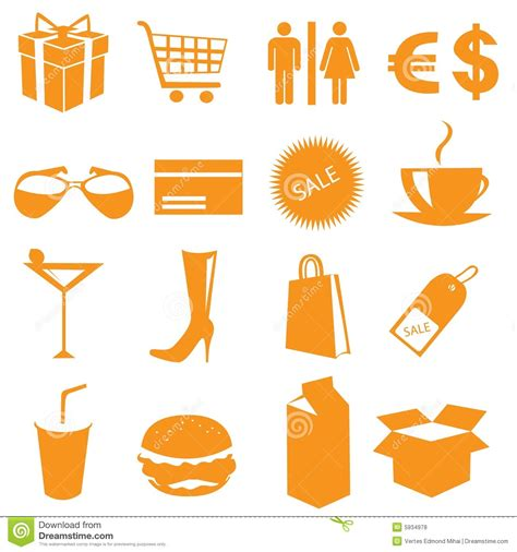 stock photos royalty free images and vectors shopping icons vector royalty free stock photos image