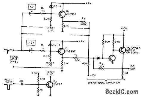 tunnel diode lifier circuit tunnel diode pulseheight discrimina tor lifier circuit circuit diagram seekic