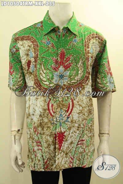 Kemeja Batik Jumbo Rara Big Size jual kemeja batik lengan pendek halus big size baju batik