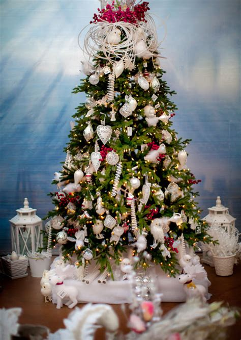 artificial trees with lights attached your best poinsettia tree and decor