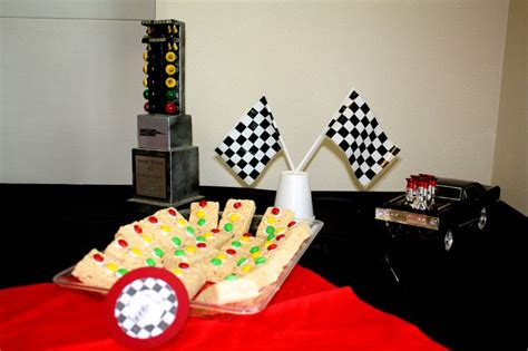 Race Car Themed Baby Shower by Race Car Themed Baby Shower Things I Did From