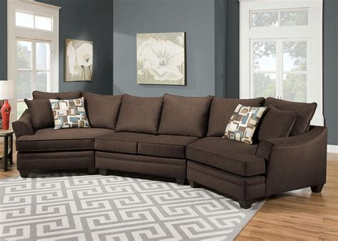 Chenille Sectional Sofa 12 Collection Of Chenille Sectional Sofas