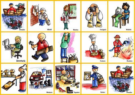 Imagenes En Ingles De Oficios | sgblogosfera mar 237 a jos 233 arg 252 eso profesiones en color