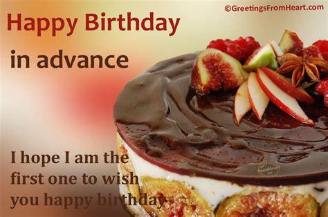 Advance Wish You Happy Birthday Happy Birthday In Advance