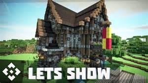 mittelalterliches haus minecraft mittelalter haus villa bauen minecraft lets