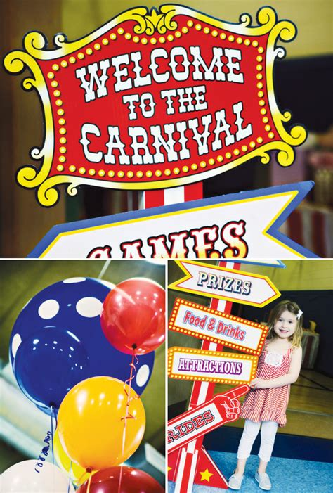 carnival themes ideas carnival birthday party ideas carnival birthday party