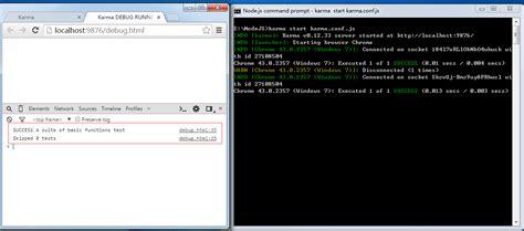 node js karma tutorial javascript测试工具之karma jasmine的安装和使用详解 javascript技巧 js教程 php中文网