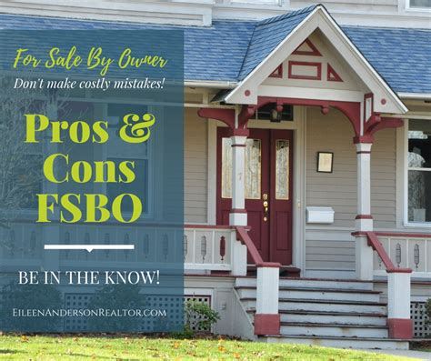 fsbo save the commission pros and cons of for sale by