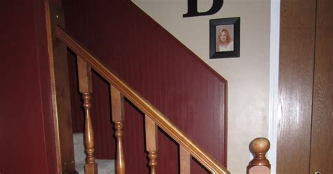 how to sand a banister the diy momma how to paint a staircase banister without