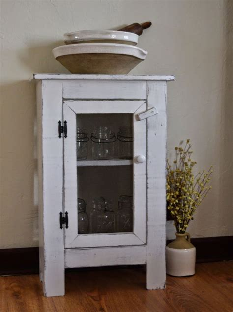 pennies primitives small jelly cabinet with screen door