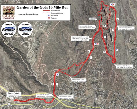 Garden Of The Gods Trail Map Garden Of The Gods 10 Mile 2014 2015 Date Registration