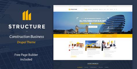 drupal themes construction structure construction drupal theme themekeeper com