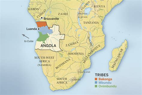 Over Where? Cuban Fighters in Angola?s Civil War   HistoryNet