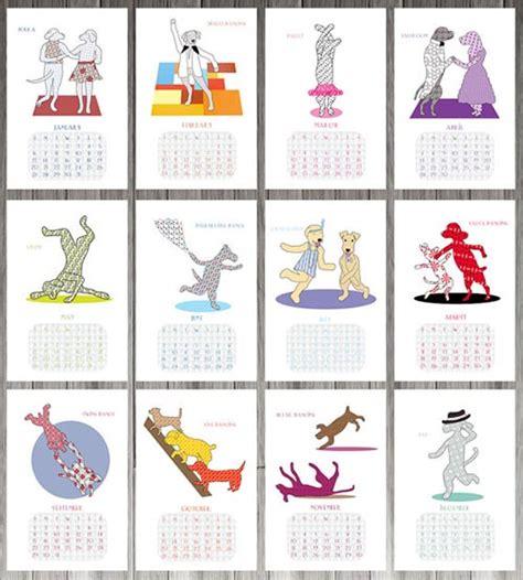 design milk modern calendars 20 modern 2013 dog calendars dog milk