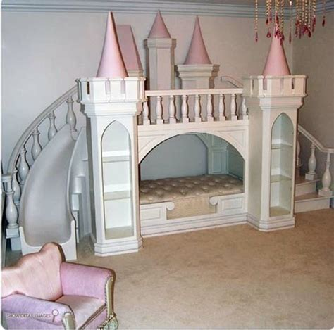 princess bed with slide princess bed what child wouldn t love a slide in their
