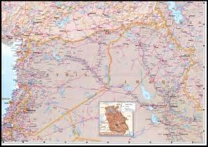 Map Of Syria And Iraq by Nationmaster Maps Of Syria 19 In Total