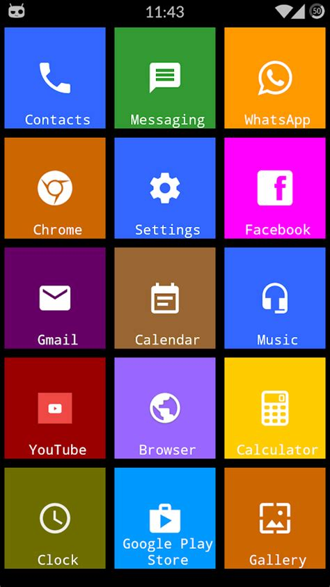 themes app 2018 metro theme launcher 2018 wp look android apps on