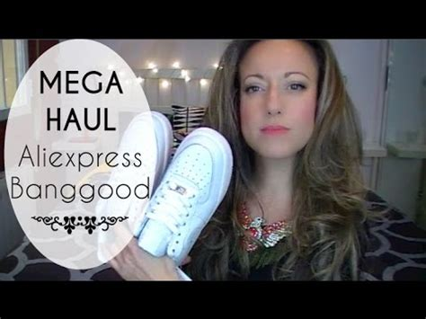 aliexpress vs banggood mega haul aliexpress y banggood lunae youtube