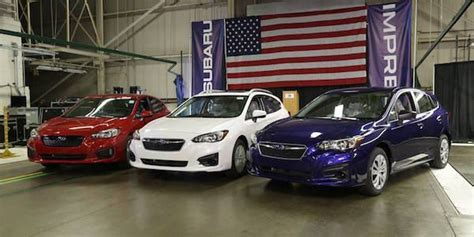 2017 subaru impreza sedan blue subaru impreza is true white and blue its impact