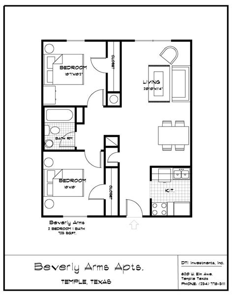 small bath floor plans 2 bedroom bath apartment floor plans