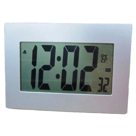 extra large lcd display atomic table wall alarm clock large numbers digital ebay