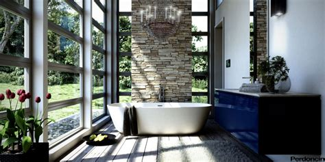 nature bathroom decor bathtubs with a view of nature