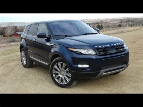 2014 range rover evoque 9 speed 0 60 mph review