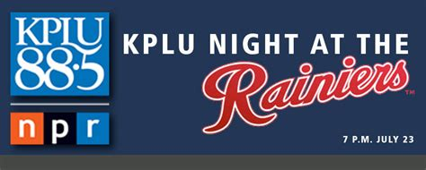 Kplu Ticket Giveaway - kplu s night at the tacoma rainiers kplu news for seattle and the northwest