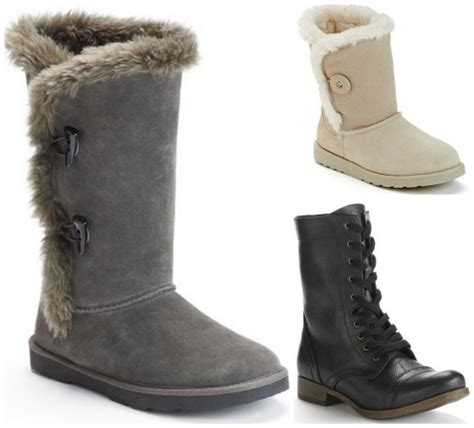 kohl s black friday s boots deals as low as 16