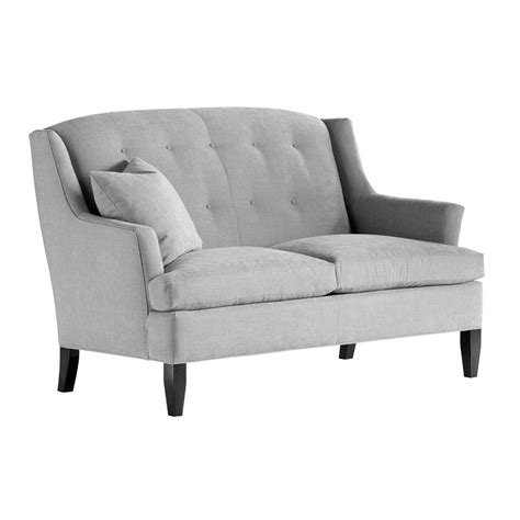 discount settee jessica charles 1793 t cagney tufted settee discount