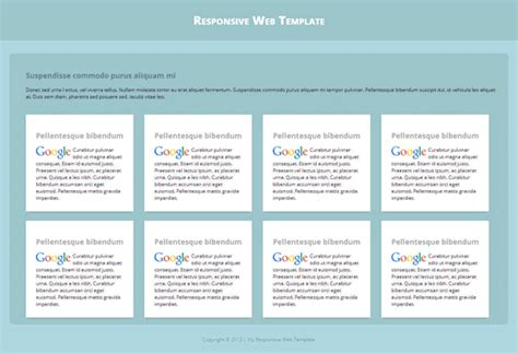 creating basic style sheet for responsive template my