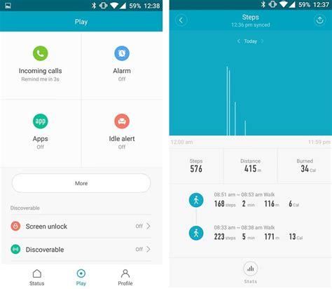 App For Two Xiaomi Mi Band 2 Im Test G 252 Nstiger Und Guter Fitness