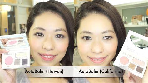 Thebalm Autobalm Hawaii Palette thebalm autobalm palette hawaii vs california 彩妝分享