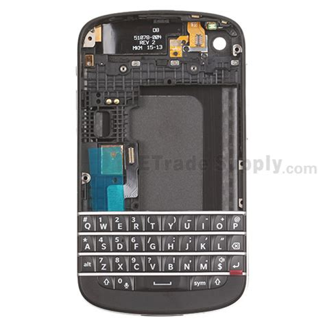 Bb Q10 Keypad blackberry q10 housing and qwerty keypad assembly etrade supply