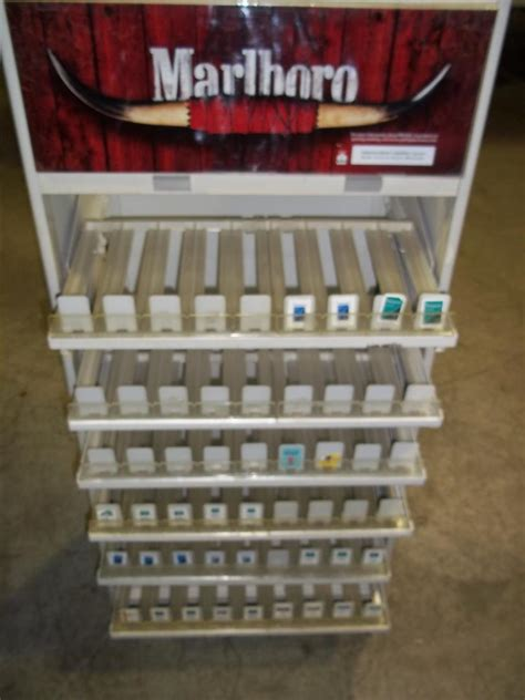 marlboro cigarette store display rack great for gas