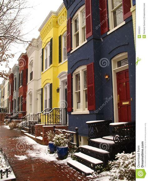 georgetown colors georgetown colors stock image image of brick georgetown