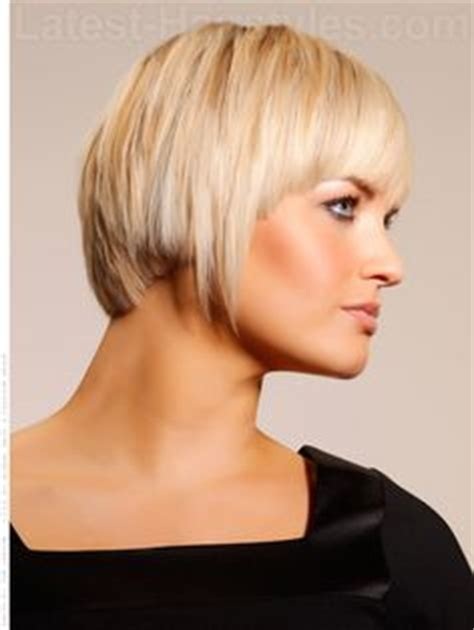 a speedy way to find gorgeous stylish haircuts straight sassy chin length bob with highlights and bangs