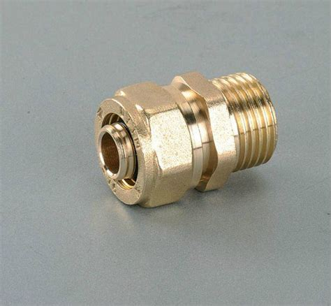 What Is A Compression Fitting For A Copper Pipe by Brass Compression Fitting For Copper Pipe 003 Hy